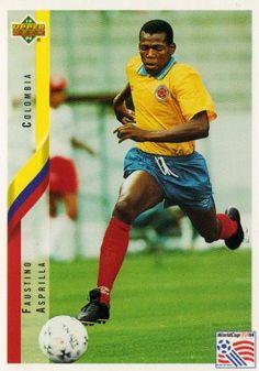 Faustino Asprilla  Ol' School Colombian pride