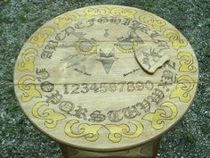 Owl Eyes Ouija Table w/planchette