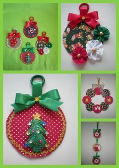 Fun Christmas time craft ideas for both adults and kids. Great way to recycle and upcycle old, unused CDs and DVDs. Make ornaments or other holiday decor with a little imagination and ribbon. Cd Crafts, Felt Crafts, Handmade Crafts, Diy And Crafts, Felt Christmas, Homemade Christmas, Christmas Projects, Christmas Time, Cath Kidston Christmas