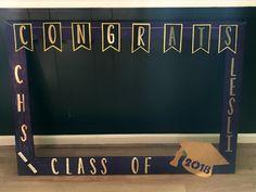 Graduation Photo Booth Frame - DIY