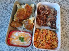 Choux-fleurs Tandoori, salade de maïs et cookies flocons d'avoine