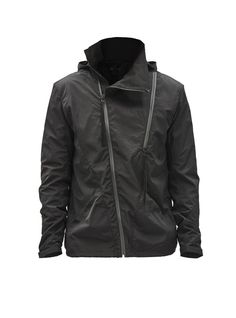 eurria asymmetrical shell jacket