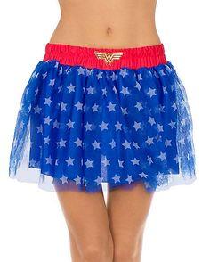Wonder Woman Petticoat - DC Comics - Spencer's