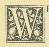 Image taken from page 75 of 'Warblin's fro' an Owd Songster. With an introductory sketch by W. Trevor. [Illustrated.]' #initial_W #initial #W