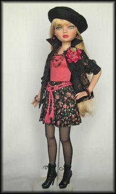 Ellowyne, OOAK Coral Fashion from WS  | by jkinmcd via eBay ends 3/8/14 Bid $39.99. Sold for $69.89
