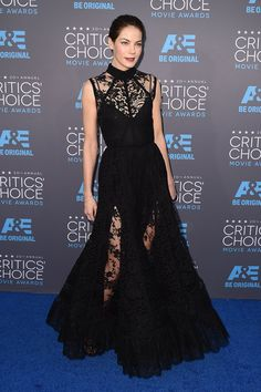 Michelle Monaghan de Jummy Choo als Critic Choice Awards