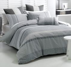 We offer an extensive selection of quality bedding up to super king size, including quilt covers, bed sheets, cushions and Linen Bedding, Duvet, Queen Size Quilt, Quilt Cover Sets, King Beds, Dream Bedroom, Bed Sheets, Home And Living, Home Furnishings