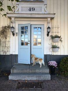 Sekelskifte, doors , house, dog