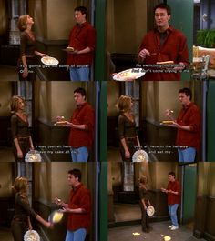F R I E N D S On Pinterest Chandler Bing Friends And
