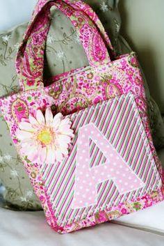 Cute monogram bags
