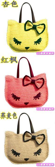 Source by bag handbags wallets Crochet Handbags, Crochet Purses, Crochet Toys, Crochet Hello Kitty, Crochet Stitches, Crochet Patterns, Modern Crochet, Kids Bags, Knitted Bags