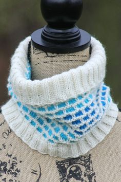 Another Brick Cowl Balls to the Walls Knits, A collection of free one- and two- skein knitting patterns