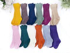 24f47eccd40 Fall Baby Knee High Socks Girl Boy Hand Dyed Cable Knit Socks Mustard Navy  Pumpkin Infant Toddler Girl Boy Size Newborn-10 Years