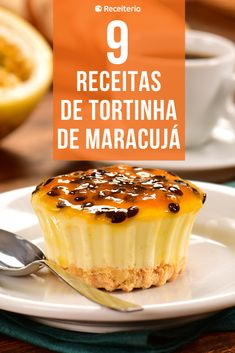 Individual Desserts, Mini Desserts, Portuguese Recipes, Italian Recipes, Bakery Cakes, 20 Min, Tasty Dishes, Coco, Cheesecake