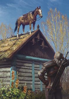 Roach is an official artwork for the world of The Witcher and the Witcher card game GWENT, video games created by CD PROJEKT RED. The Witcher Wild Hunt, The Witcher 3, Witcher Art, Dungeons And Dragons, Witcher Wallpaper, Anime Pictures, Mundo Dos Games, 9gag Funny, Meme Comics