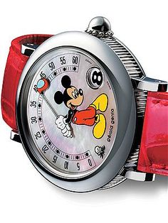 1990s: At the request of the Sultan of Brunei, Genta produced Les Fantaisies – the first time that Mickey Mouse, or any other Walt Disney character, appeared on luxurious mechanical watches