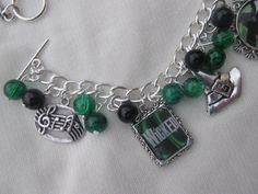 UK BASED - Mini - Wicked The Musical Charms Bracelet by CreationsByDebs on Etsy