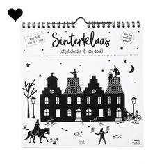 Sinterklaas aftelkalender en doe-boek