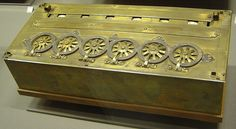 Pascaline / The first computer in history.