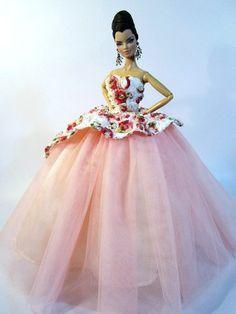 Flowers in Fashion barbies   Barbie Fashion Royalty