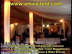Sewa Tenda VIP Pernikahan dan Dekorasi untuk Event Wedding Putra Bpk  Yu...