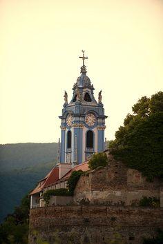 Stiftskirche, Lower Austria, Austria / by mhodges on Flickr.Dürnstein