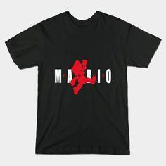 AIR MARIO T-Shirt - Super Mario Bros T-Shirt is $14 today at TeePublic!