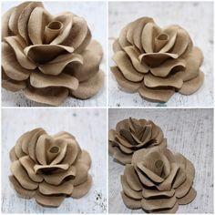 DIY: Cómo hacer rosas utilizando tubos de papel higiénico vacíos | Reducir. Reutilizar. Recicle. Reponer. Restaurar.
