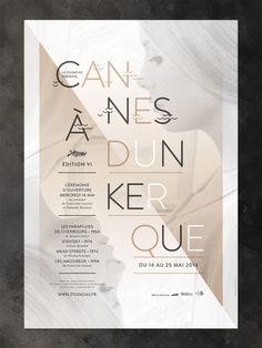 Poster // Cannes à Dunkerque 2014 www.studiocorpus.com