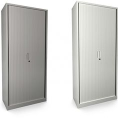 Supplied in white or goose grey finishes, these tambour units are amazing value for money!