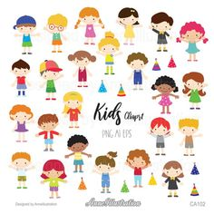 Kids clipartChildren clipartBoyGirlStudentCute | Etsy Clipart Boy, Black And White Doodle, Simple Collage, Us Images, Collage Sheet, Paper Background, Cute Kids, Your Design, Doodles