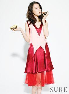 Rainbow's Woo Ri Sure Korea Magazine June Issue '14