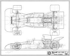 Tyrrell 003 Ford F1  (1971)