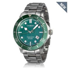 C60 Trident Green - Christopher Ward