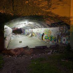 vancouver tunnel skate park Skateboard Furniture, Skateboard Decks, New Skate, Skate Park, Southampton City, Drugs Art, Sport Park, Nostalgia, Deck Design