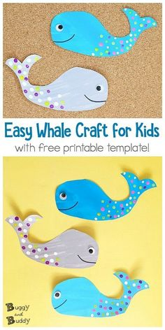 Easy Whale Craft for