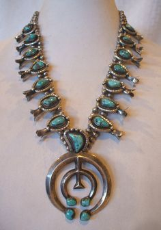Outstanding Vintage NAVAJO Cast Sterling by TurquoiseKachina