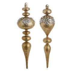 "Beaded Finial Ornaments 14"" PerfectlyFestive http://www.amazon.com/dp/B008SKKOD2/ref=cm_sw_r_pi_dp_I5Z7vb0W1HZ2Q"