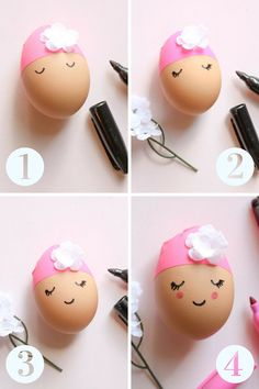 Pool Party Eggs diy to sell Pool Party Eggs ⋆ Handmade Charlotte Ostern Party, Diy Ostern, Diy Osterschmuck, Eggs For Baby, Diy Easter Decorations, Decoration Party, Egg Art, Easter Crafts For Kids, Easter Ideas