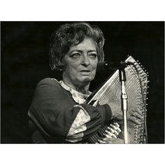 One of the most influential women in music, Mother Maybelle Carter, part of the original Carter family. Her ability to play melody and rythym on guitar changed music.