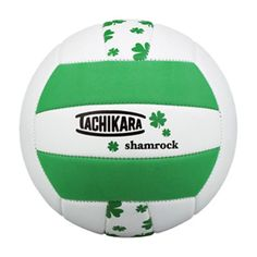 Tachikara SofTec Shamrock Volleyball - SHAMROCK