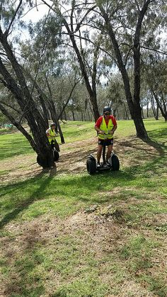 Segway through the trees