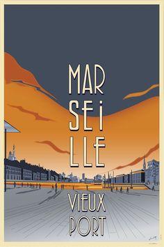 Marseille à l'affiche - Love Spots