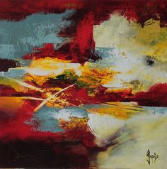 peinture abstraite art abstrait by Jadis