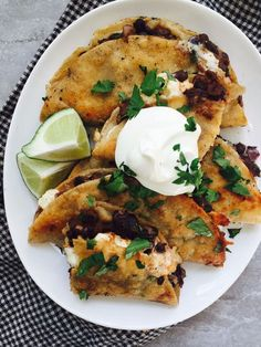 Crispy Black Bean + Feta Tacos - Dinner With Julie...