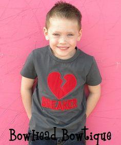 Etsy Valentine Shirt for Boys