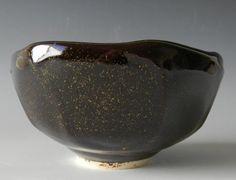 Temmoku gold ^6 ox–Diane Bessette     glazestuff blogspot temmoku gold  cone 6 oxidation Cornwall Stone        61.0 Whiting                     8.0 Dolomite                    7.0 Lithium Carbonate       5.5 Gerstley Borate            3.0 Silica                           5.5 Add:  RIO                             10.0