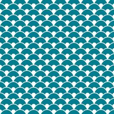 Cadeaux - Wantit - Coque iPhone écaille Dragon bleu canard