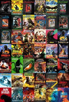 Godzilla Franchise, Godzilla Comics, Cool Monsters, Classic Monsters, Godzilla Vs King Ghidorah, Godzilla Wallpaper, Motion Images, Skull Island, King Kong