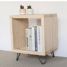 Lucy table is full of character and charm yet functional and versatile, making a great side table or mini bookcase.